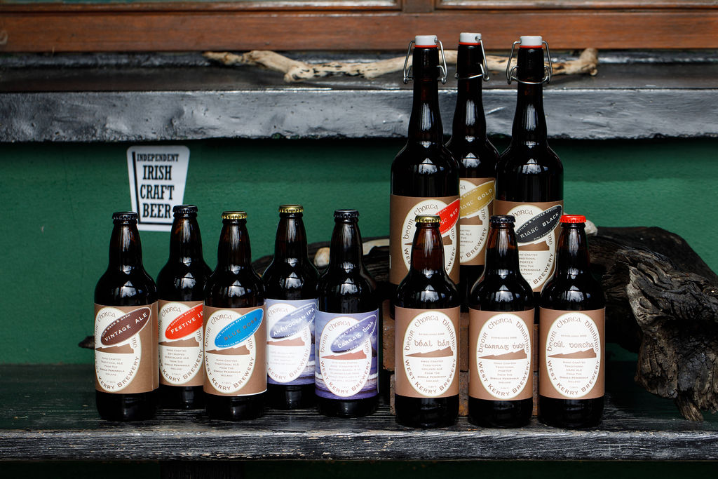 West Kerry brewery range of Ales and stouts